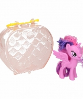 My little pony paardje in tasje twilight sparkle 8 cm trend