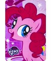 My little pony pinkie pie fleece deken plaid voor meisjes trend