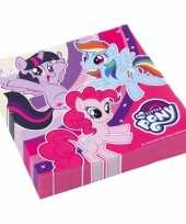 My little pony servetten 20 stuks trend