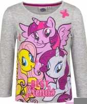 My little pony shirt grijs lange mouwen trend