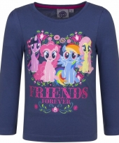 My little pony shirt navy lange mouwen trend