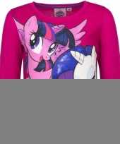 My little pony shirt roze lange mouwen trend