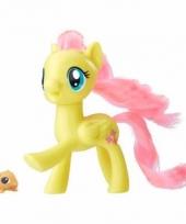 My little pony speelfiguur paardje fluttershy 7 cm trend