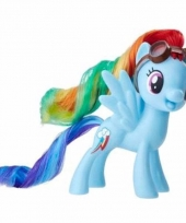 My little pony speelfiguur paardje rainbow dash 7 cm trend