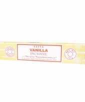 Nag champa wierook vanilla 15 gram trend
