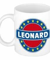 Namen koffiemok theebeker leonard 300 ml trend