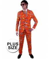 Nederland kostuum grote maat pak voor heren trend