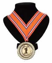 Nederlands lint nr 1 medaille oranje rood wit blauw trend