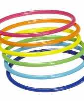 Neon armbandjes 18 stuks trend