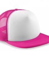 Neon fuchsia baseballcap trend