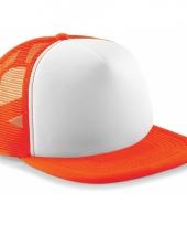 Neon oranje baseballcap trend