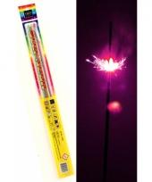 Neon sterretjes 45 cm 4 stuks trend