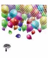 Net om ballonnen laten vallen 500 stuks trend