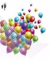 Net voor helium ballonnen 200 stuks trend