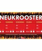 Neukrooster per week sticky devil sticker trend