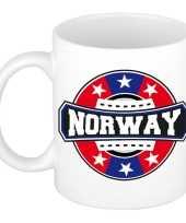 Norway noorwegen embleem mok beker 300 ml trend