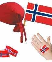 Norwegen noors thema verkleed set voor volwassenen trend
