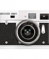 Nostalgische muurplaat camera 20 x 30 cm trend