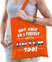 Not only perfect dutch nederland cadeau tas oranje voor dames trend