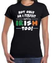Not only perfect irish st patricks day t-shirt zwart dames trend