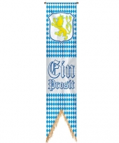 Oktoberfest versiering banner vlag 180 cm trend