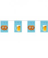 Oktoberfest versiering vlaggenlijn 10 m trend