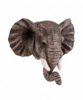 Olifanten magneet 3d van 8cm trend