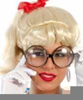 Oma bril met grote glazen trend