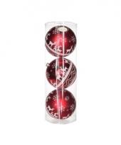 Onbreekbare kerstballen met rendieren trend