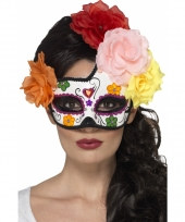 Oogmasker day of the dead halloween trend 10075133