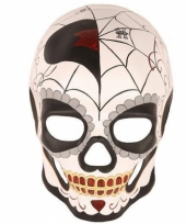 Oogmasker day of the dead halloween trend