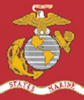 Oorlog us marine corps vlag 150 x 90 cm trend