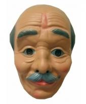 Opa masker kaal met snor trend