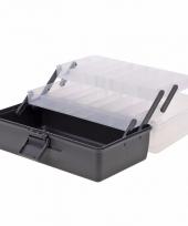 Opberg box antraciet 30 cm trend