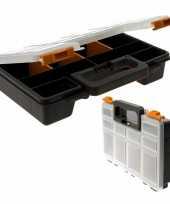 Opberg box met 8 vakken 29 cm trend