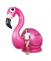Opblaas flamingo xxl trend