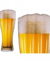 Opblaas luchtbed bierglas 180 cm trend