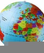 Opblaas wereldbol 50 cm trend