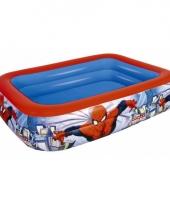 Opblaasbaar spiderman zwembad trend