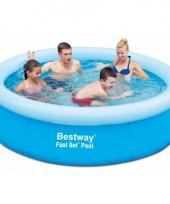 Opblaasbaar zwembad 198 x 51 cm trend