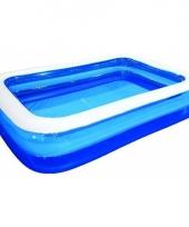 Opblaasbaar zwembad 262 x 175 cm trend