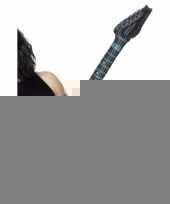 Opblaasbare blauwe elektrische gitaar 99 cm trend