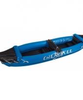 Opblaasbare kano cherokee blauw trend