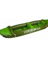 Opblaasbare kano cherokee groen trend