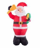 Opblaasbare kerstman 120 cm trend