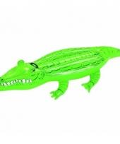Opblaasbare krokodil 168 x 89 cm trend