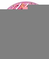Opblaasbare roze donut 107 cm trend