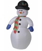 Opblaasbare sneeuwpoppen trend