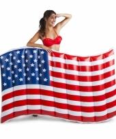 Opblaasbare vlag usa 150 cm trend