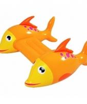 Opblaasbare zwemplank met vissen trend